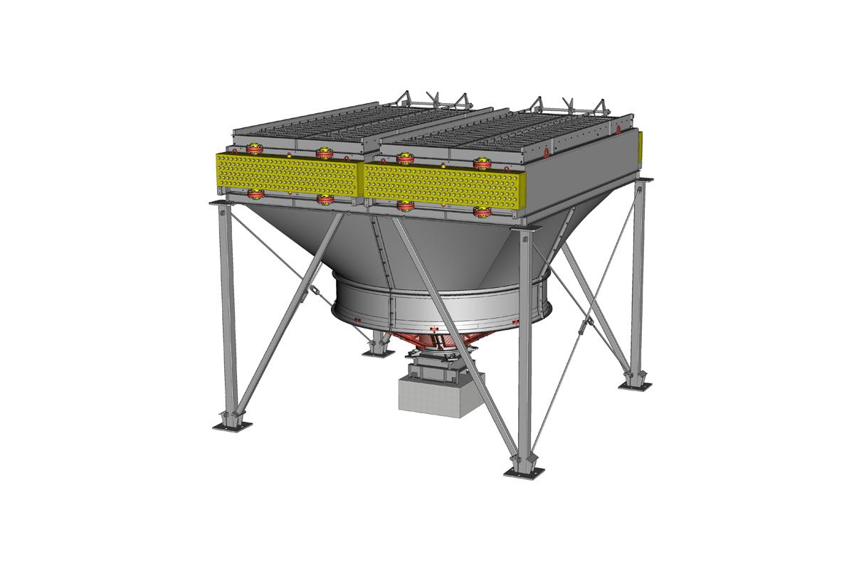Аппарат воздушного охлаждения горизонтальный типа АВГ-Б