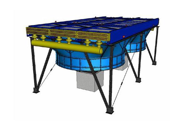 Аппарат воздушного охлаждения газа (2АВГ-75)