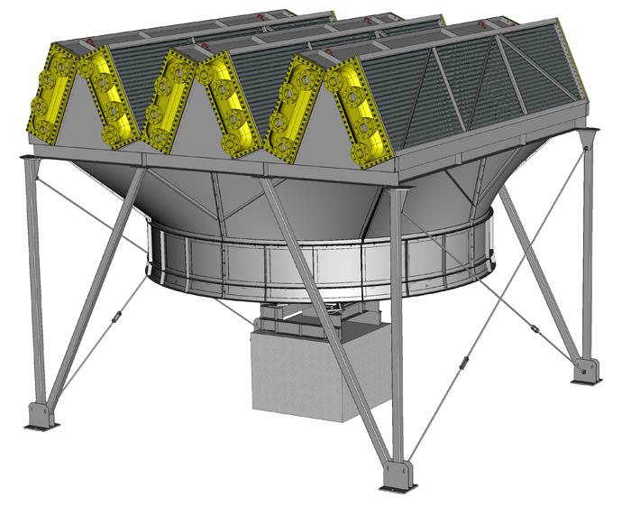 Аппарат воздушного охлаждения зигзагообразный типа АВЗ-Д; 2 АВЗД