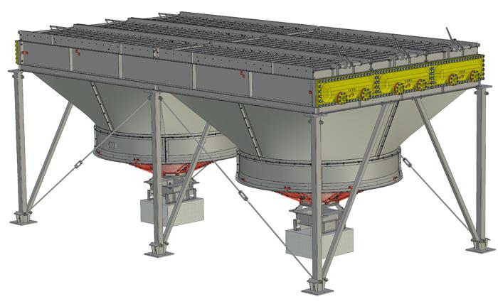 Аппарат воздушного охлаждения горизонтальный типа АВГ