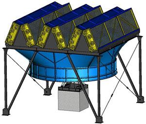 Аппарат воздушного охлаждения зигзагообразный типа АВЗ; 1АВЗ; 2 АВЗ