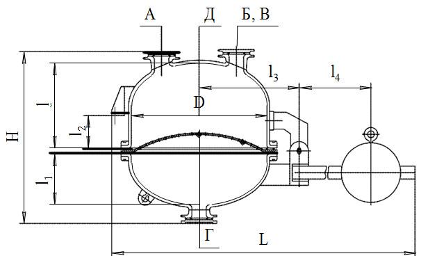 Фильтры эмалированные под давлением без рубашки Друк-фильтры